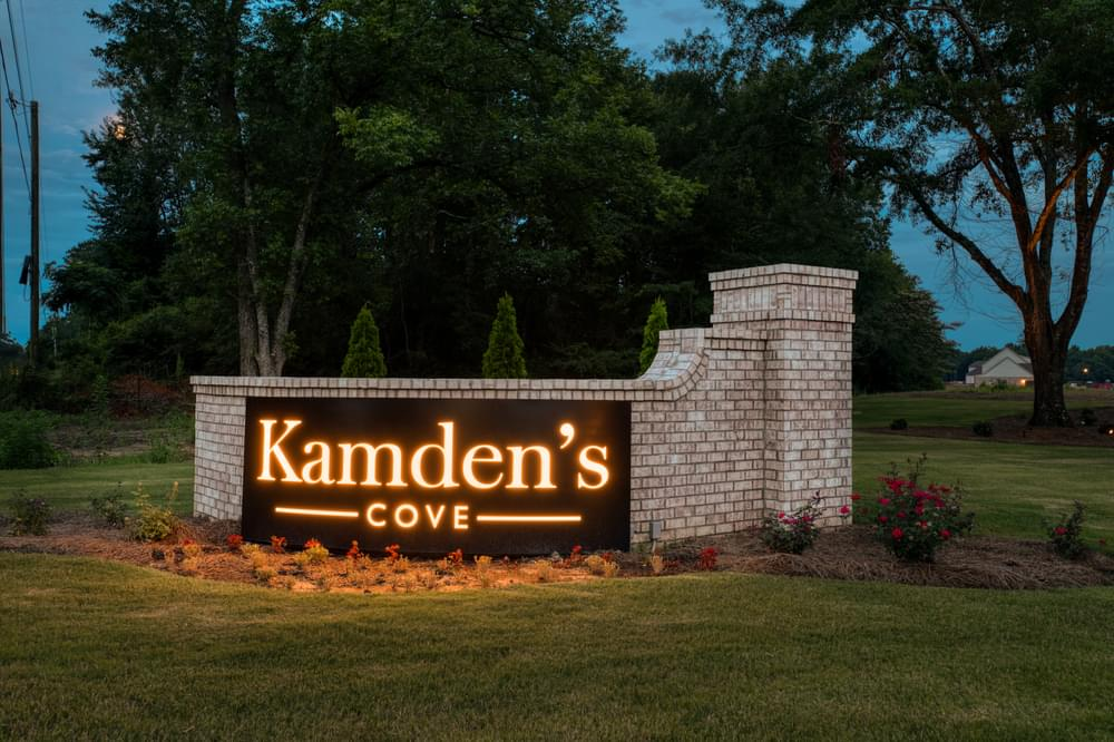 Kamden's Cove New Homes in Millbrook, AL