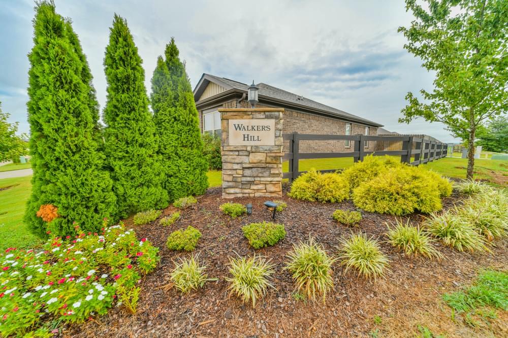 Walker's Hill New Homes in Meridianville, AL