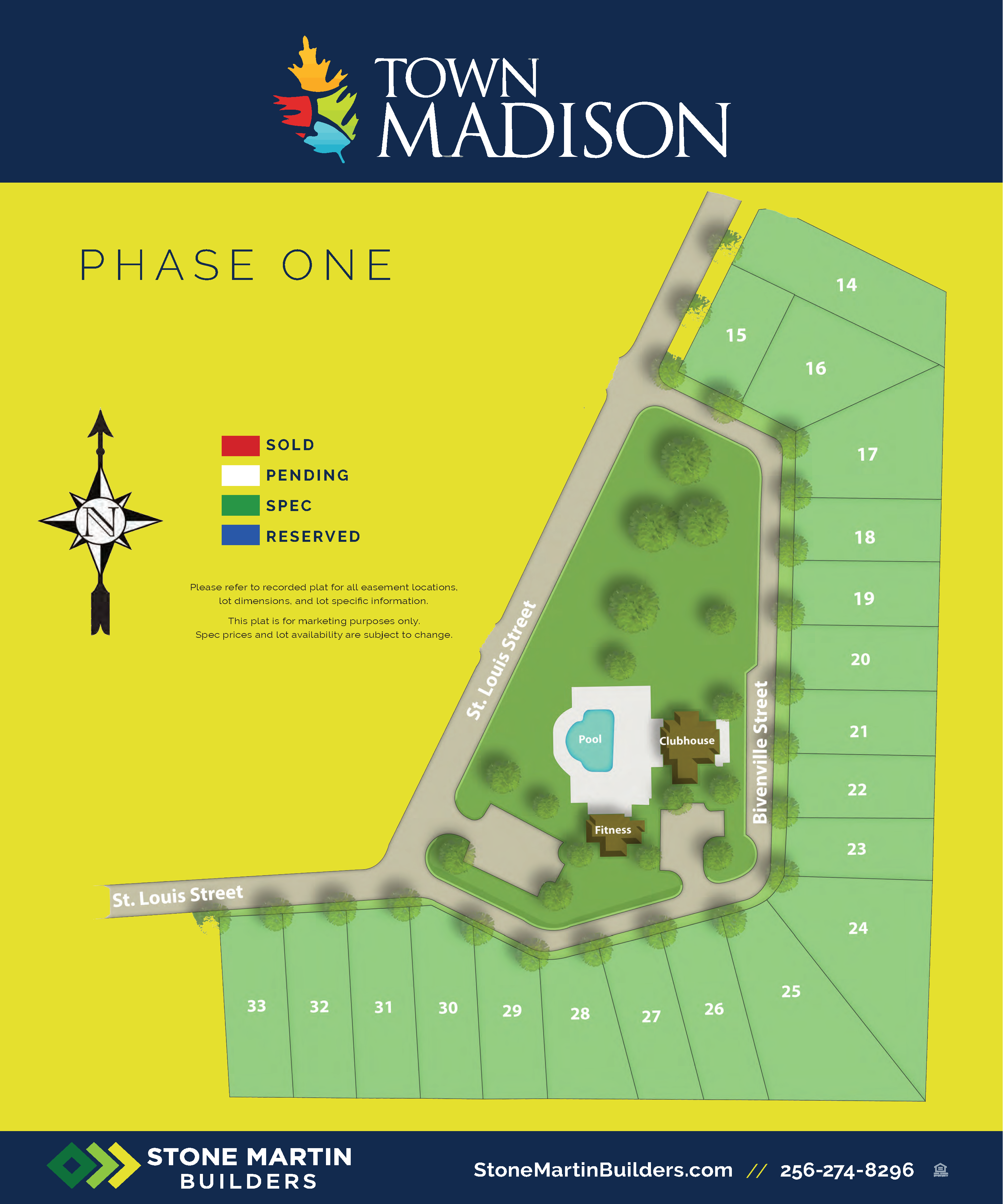 Madison, AL Town Madison New Homes from Stone Martin Builders