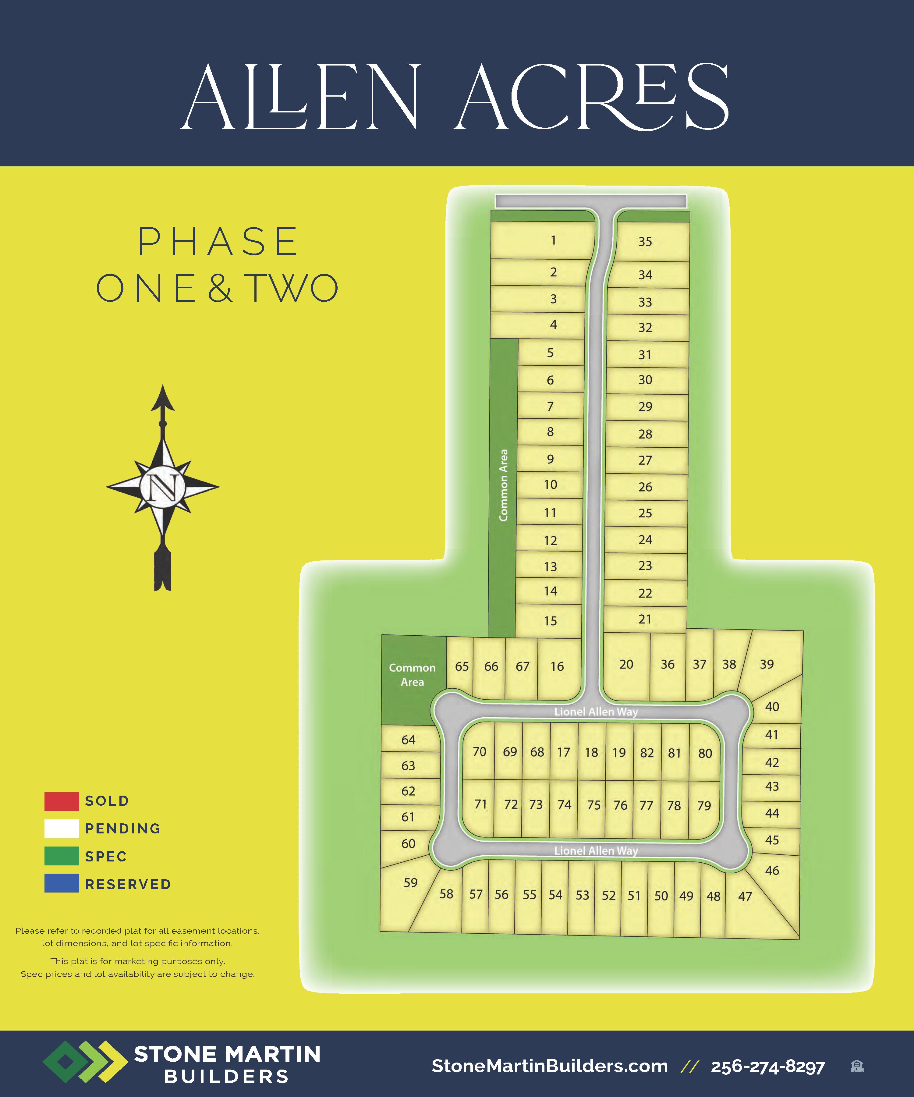 Huntsville, AL Allen Acres New Homes from Stone Martin Builders