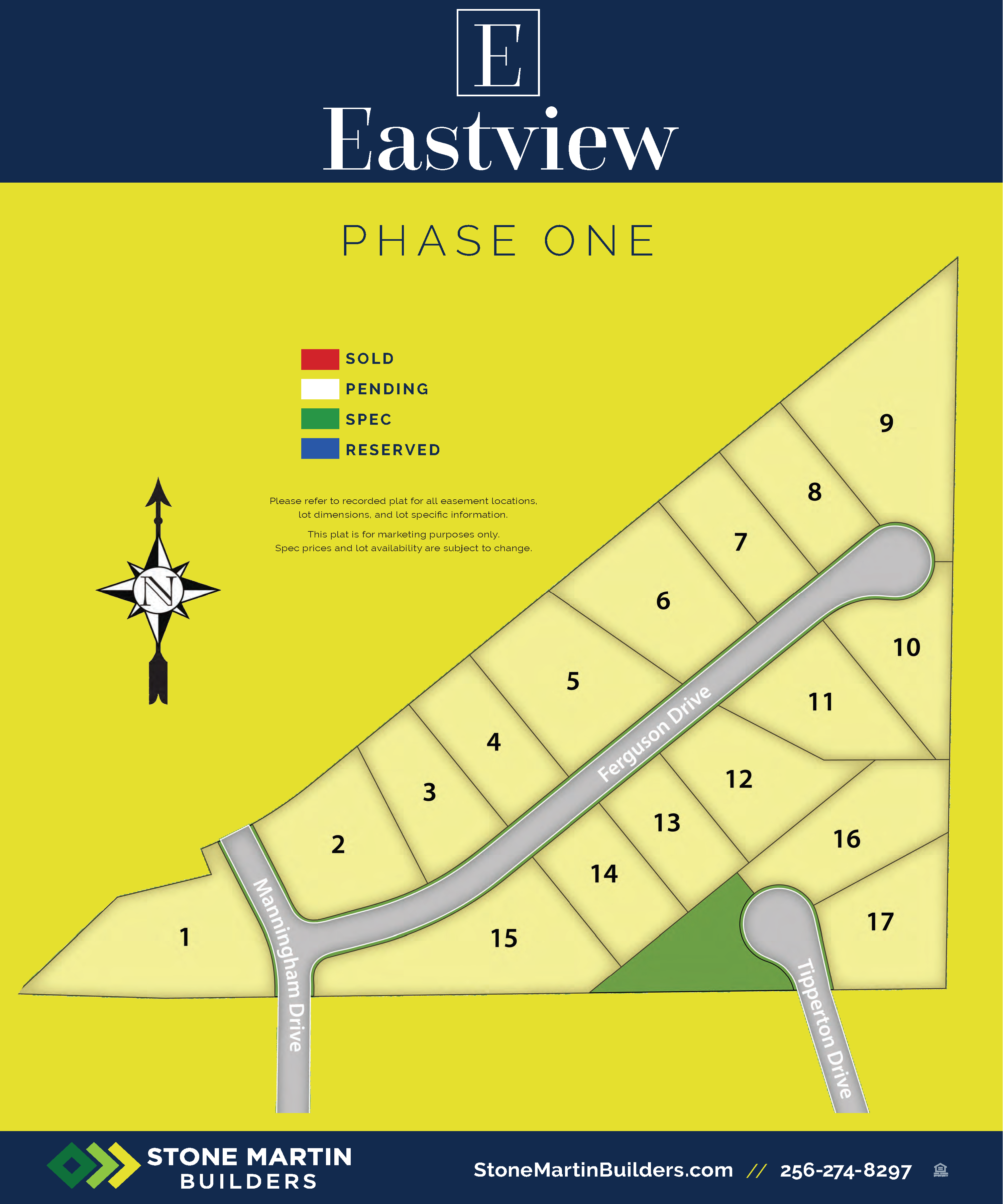Madison, AL Eastview New Homes from Stone Martin Builders