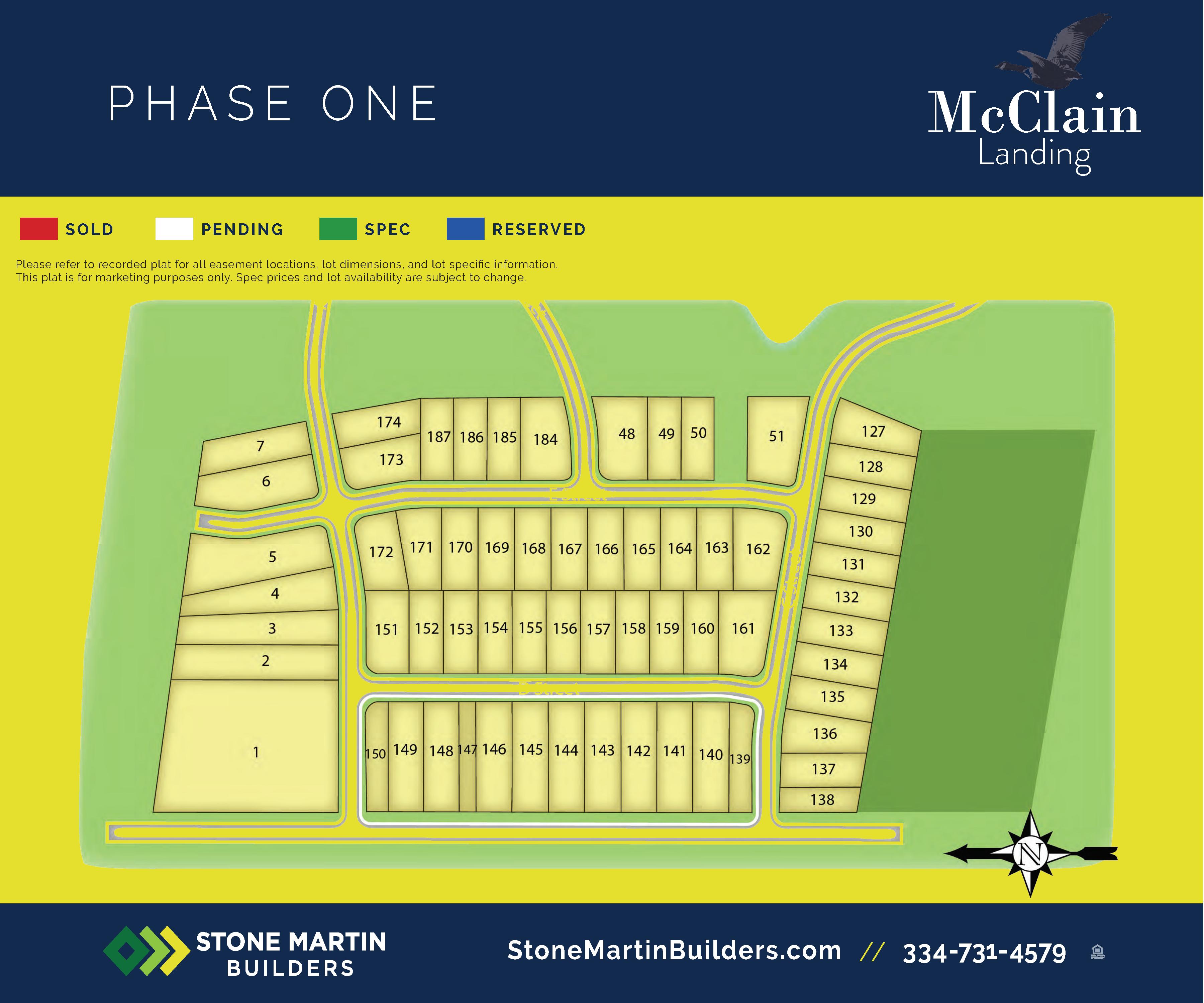 Prattville, AL McClain Landing New Homes from Stone Martin Builders