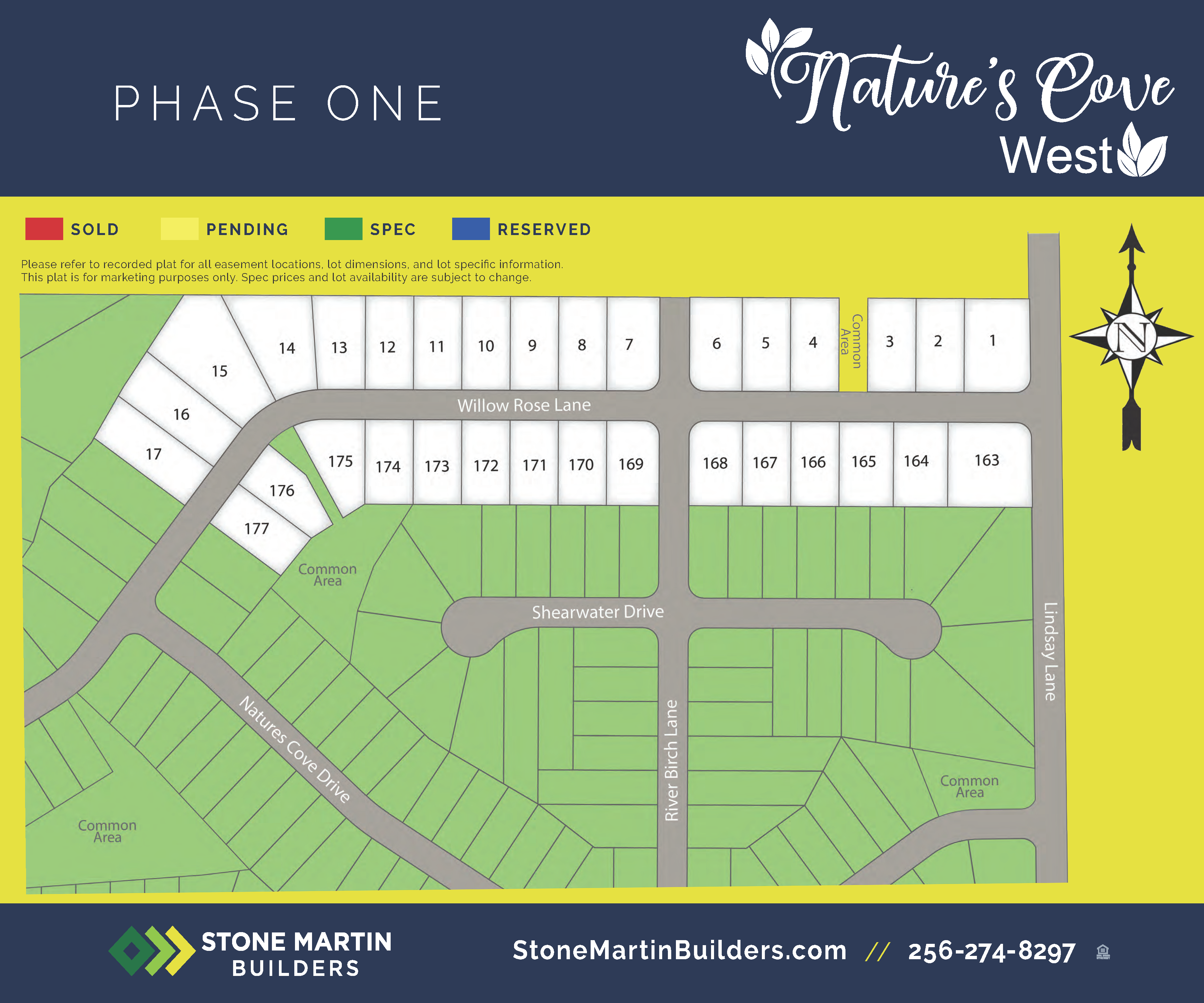 Athens, AL Nature's Cove West New Homes from Stone Martin Builders