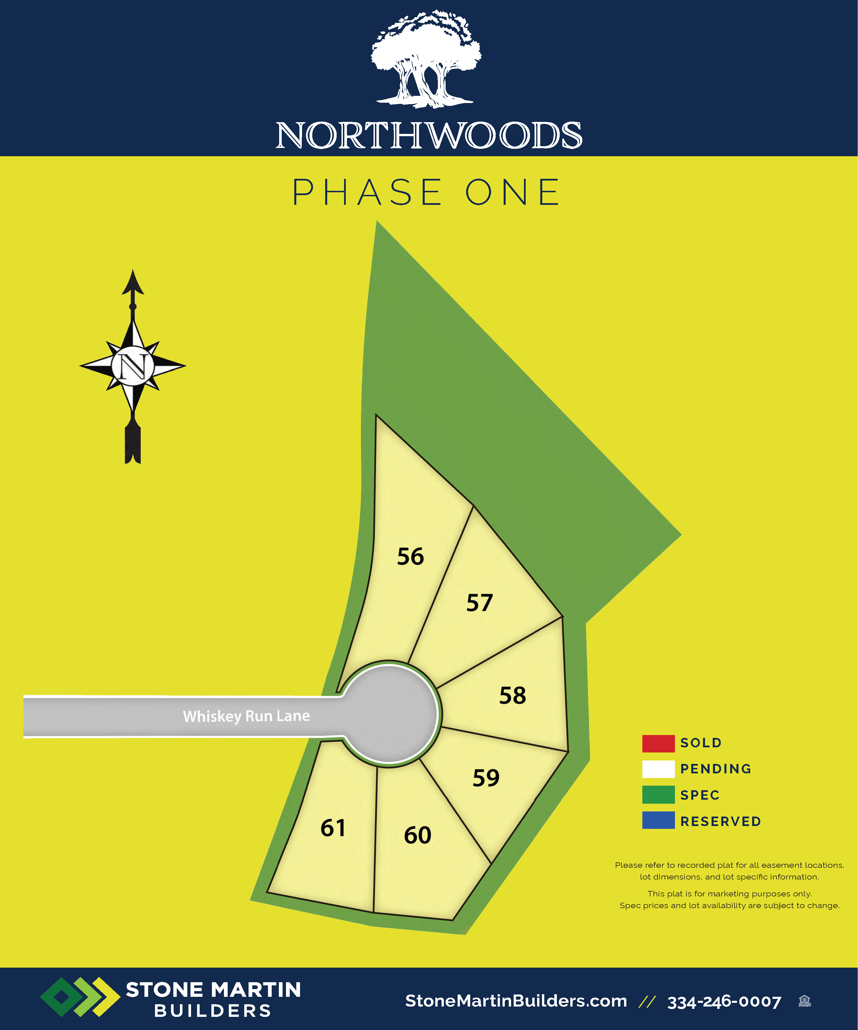 Auburn, AL Northwoods New Homes from Stone Martin Builders